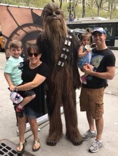Family Chewbacca